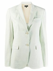 Theory single-breasted blazer - Green