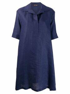 Loro Piana loose-fit shirt dress - Blue