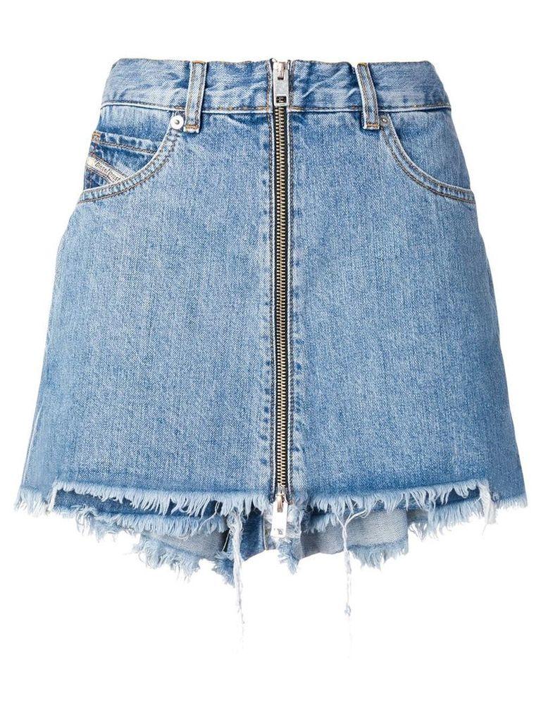 Diesel denim shorts with skirt effect - Blue