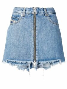 Diesel denim shorts with skirt effect - Blue