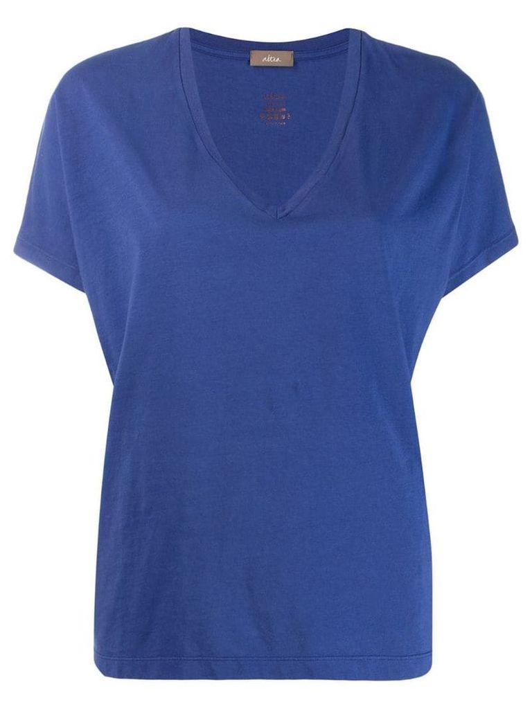 Altea v-neck T-shirt - Blue