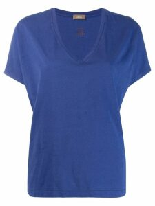 Altea v-neck T-shirt - Blue