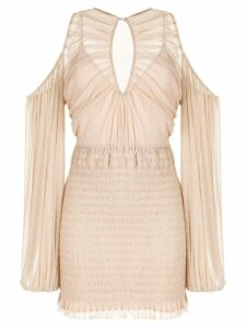 Alice Mccall Spell cold-shoulder mini dress - Pink