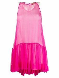 Nº21 flared sleeveless dress - Pink
