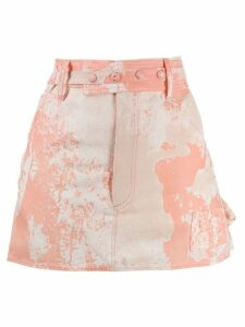 Courrèges tie-dye skirt - Pink