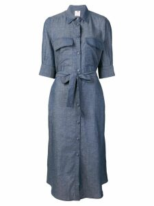 Ultràchic chambray shirt dress - Blue