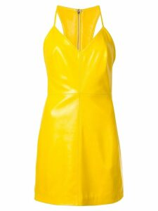 Manokhi v-neck mini dress - Yellow