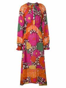 Dodo Bar Or floral print maxi dress - Pink