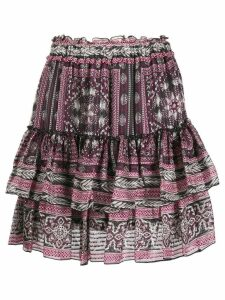 Isabel Marant short Erine skirt - Purple