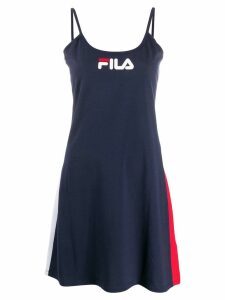 Fila Jaela logo print dress - Blue