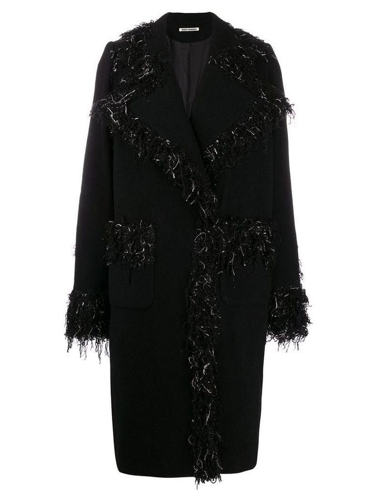 Jourden kitty overcoat - Black
