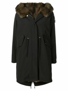 Liska hooded coat - Black
