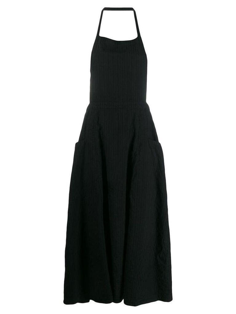 Comme Des Garçons Comme Des Garçons pinafore midi dress - Black