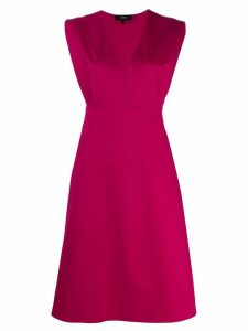 Theory Easy V-neck dress - Pink