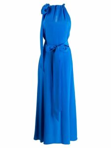 Kalita long Camille dress - Blue
