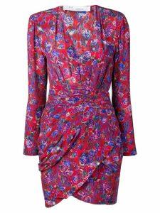 Iro floral print mini dress - Red