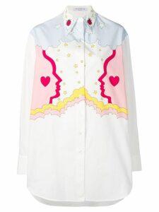 Vivetta printed boyfriend shirt - White