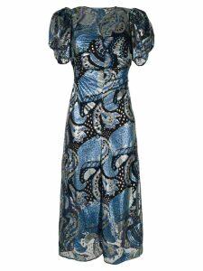 Alice Mccall Florette midi dress - Blue