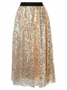 In The Mood For Love Tailer skirt - Gold