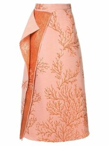 Taller Marmo Los Corales skirt - Orange