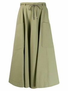 Eleventy pocket pleated skirt - Green