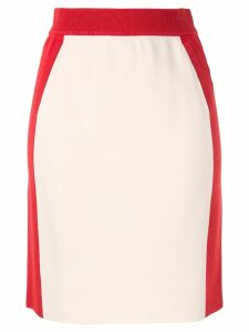 Anteprima high-waisted sporty skirt - White
