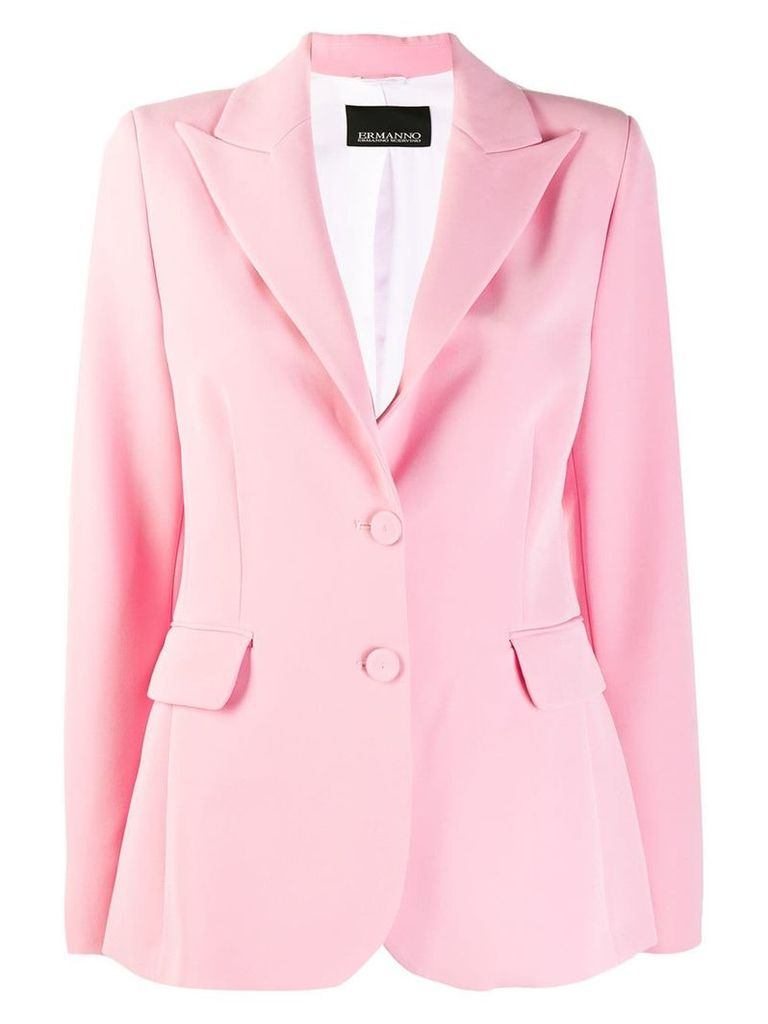 Ermanno Scervino slim-fit blazer - Pink