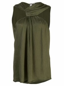 Yigal Azrouel draped knot top - Green