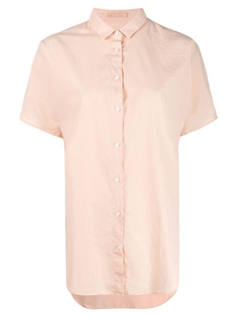Closed short sleeve shirt - Pink