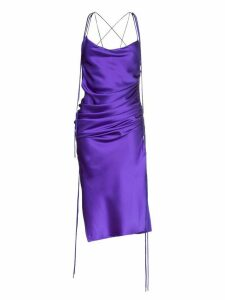 Galvan Yasmin midi dress - Purple