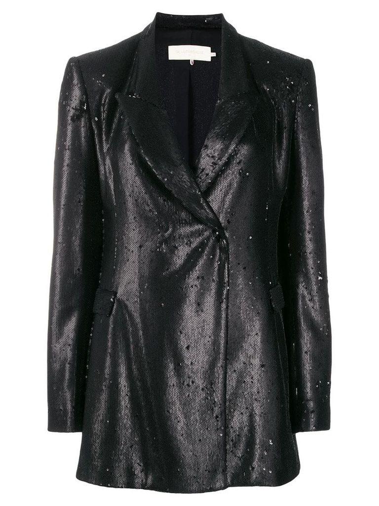 L'Autre Chose sequin blazer - Black