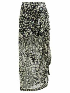 Preen By Thornton Bregazzi printed midi skirt - Blue