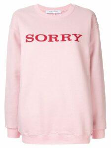 Walk Of Shame Sorry sweatshirt - Pink
