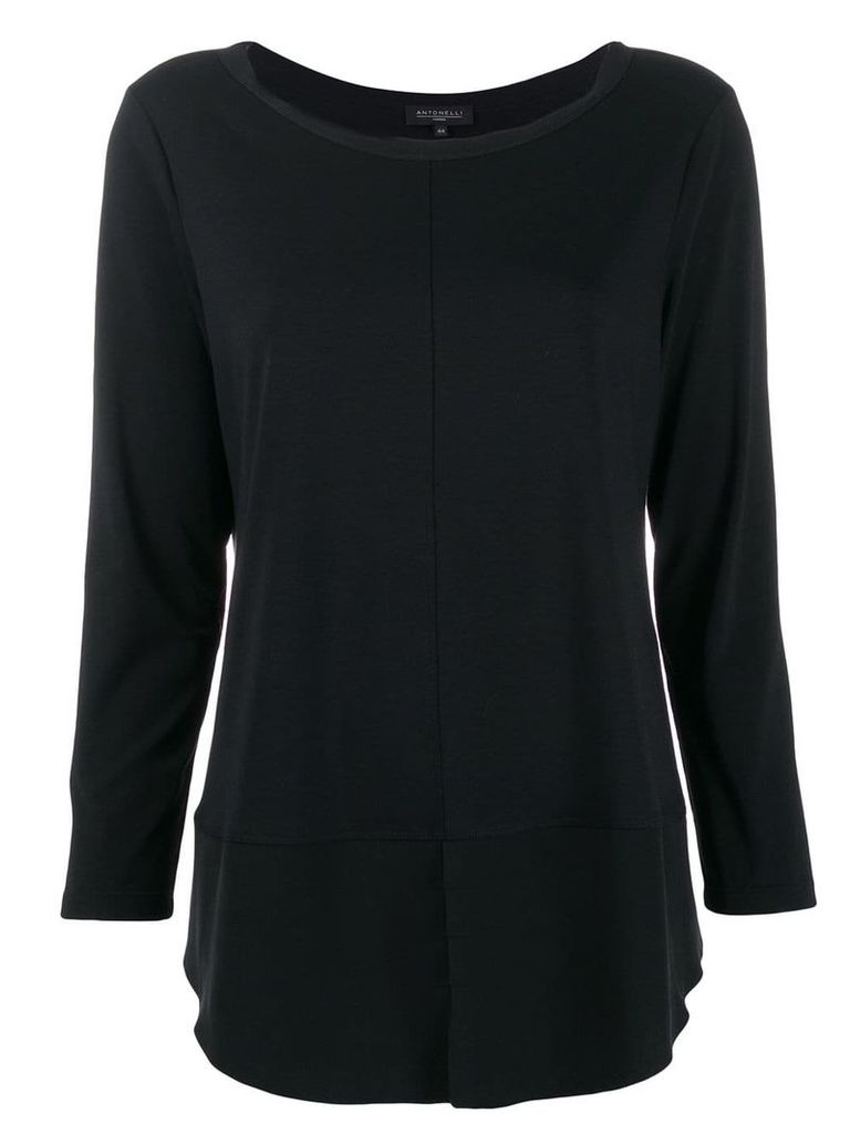 Antonelli relaxed knit top - Black