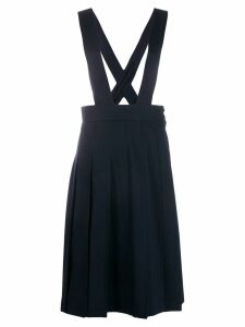 Comme Des Garçons Girl pleated midi skirt - Blue
