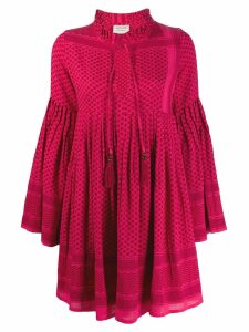 Cecilie Copenhagen printed smock dress - Red