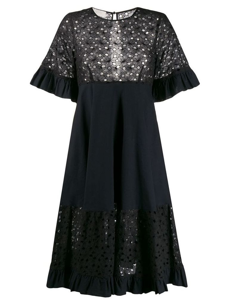 L'Autre Chose macrame dress - Black