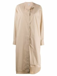 Loewe belted oversized dress - Neutrals