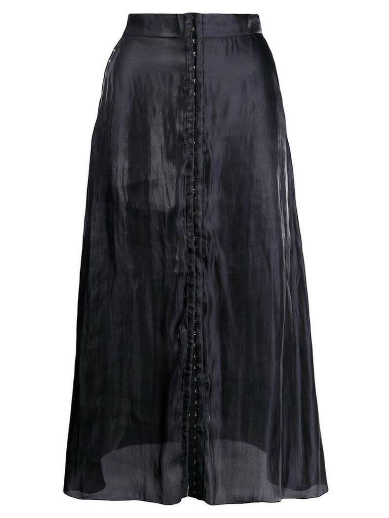 Murmur hook fastening skirt - Black