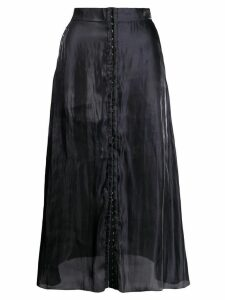 Murmur hook fastening skirt - Black