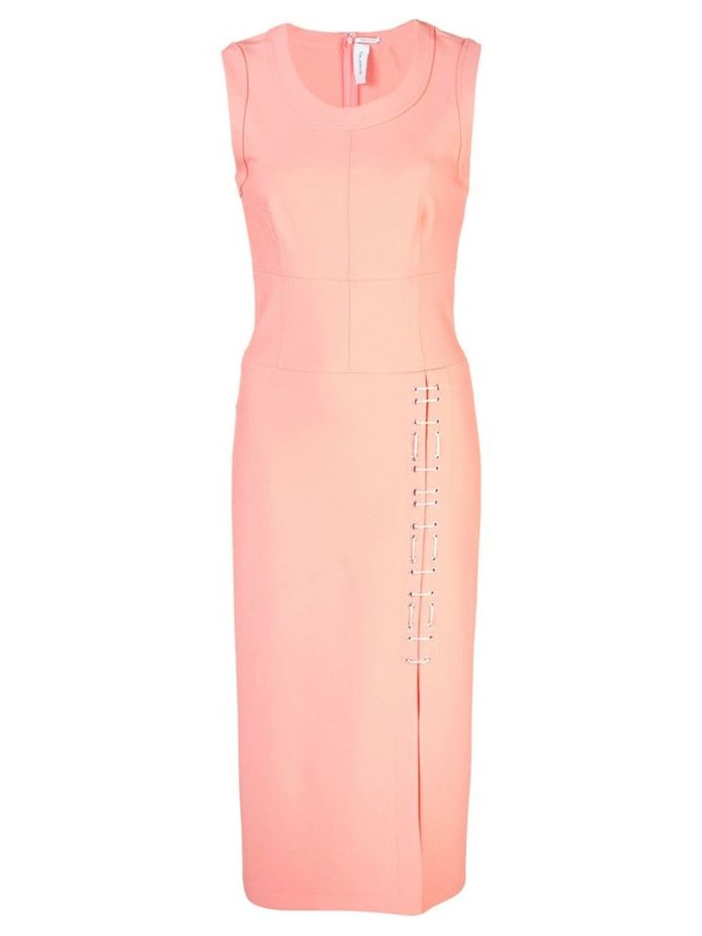 Yigal Azrouel sleeveless midi skirt - Pink