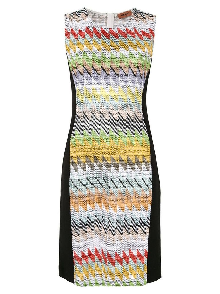 Missoni geometric pattern dress - Multicolour