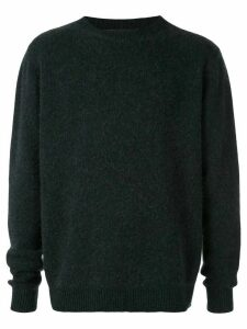 The Elder Statesman round neck jumper - Blue