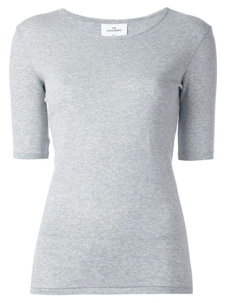 The White Briefs 'Ivy Fine' T-shirt - Grey