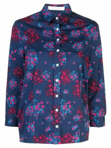 Carolina Herrera floral print shirt - Blue