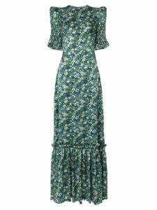 The Vampire's Wife No.11 floral print dress - Green