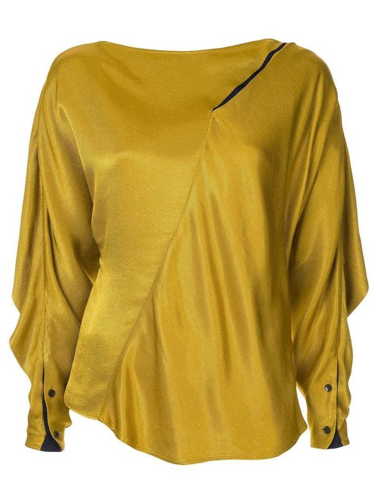 Palmer / Harding Slash blouse - Yellow