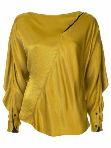 Palmer / Harding Slash blouse - Yellow