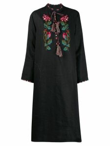 Vita Kin floral embroidered chest dress - Black