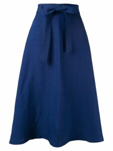 Ballsey tie waist midi skirt - Blue
